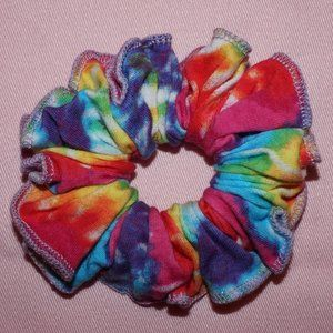 Handmade Tie-Dye Cotton Scrunchie